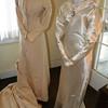 Holladay Family wedding dresses were also displayed at this event - continuing the celebration of historic weddings at the Holladay House.